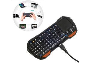 Xcsource CN100 Mini Wireless Bluetooth 3 Qwerty Keyboard Touchpad Mouse For Laptop PC Pad