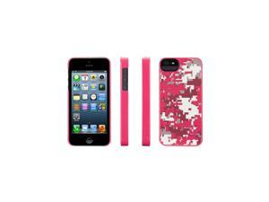 Griffin Pink QR Camo PixelCrash Hard Shell Case for iPhone 5   Hard shell case for iPhone