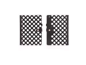Griffin Black Polka Dots Back Bay Folio for iPad Air   Protect your iPad Air with this sophisticated folio