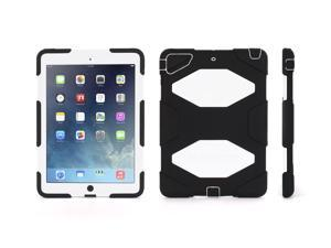 Griffin Black/White Survivor Case + Stand for iPad Air   Military-Duty Case- Direct from Griffin