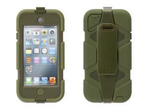Griffin Olive Green Survivor Case + Belt Clip for iPod touch (5th gen.)   Extreme-duty case