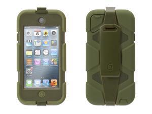 Griffin Olive Green Survivor Case + Belt Clip for iPod touch (5th gen.)   Extreme-duty case
