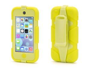 Griffin Citron Survivor All-Terrain Heavy Duty Case for iPod touch (5th gen.)   Extreme-duty case