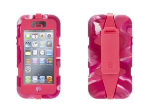 Griffin Pink Swirl Heavy Duty Survivor All-Terrain Case for iPhone 5/5s   Military-Duty Case