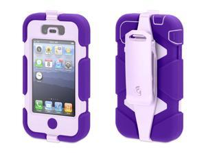 Griffin Purple/Lavender Heavy Duty Survivor Case for iPhone 4/4s   Extreme-duty case for iPhone 4 and iPhone 4S