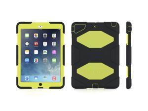 Griffin Black/ Citron Survivor Case + Stand for iPad Air   Military-Duty Case- Direct from Griffin