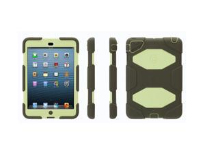 Griffin Olive/ Lime Survivor Case for iPad mini   Military-duty case with stand