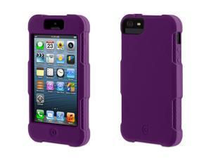 Griffin Purple Survivor Skin Protective Case for iPhone 5/5s