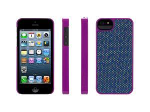 Griffin Violet Dobby Dot Fabric Layered Hard Shell Case for iPhone 5   Hard-shell protection for iPhone in fresh designs