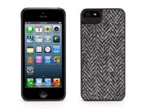 Griffin Black Harris Tweed Case for iPhone 5/5s   Genuine Harris Tweed on a protective fashion case
