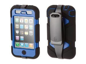 Griffin Black / Blue Survivor for iPhone 3G/3GS   Extreme-duty case