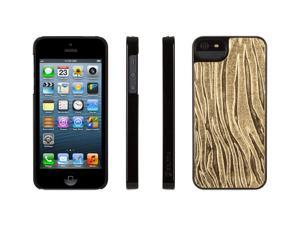 Griffin Gold Zebra Print Layered Case for iPhone 5   Hard-shell dual-layered case