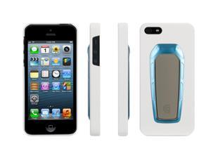 Griffin SpringView Case with stand for iPhone 5/5s   Hard-shell case with pop-out viewing stand