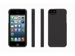 Griffin Black Outfit Flock Case for iPhone 5   Soft-feel flocked surface for iPhone 5