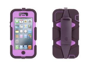 Griffin Plum/Violet Heavy Duty Survivor All-Terrain Case for iPhone 5/5s   Military-Duty Case
