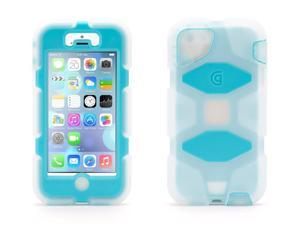 Griffin Clear/Blue Heavy Duty Survivor + Belt Clip for iPhone 5/5s   Military-Duty Case