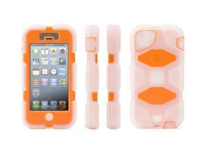 Griffin Frosted / Bright Orange Heavy Duty Survivor Case for iPhone 5/5s   Military-Duty Case for iPhone 5/5s