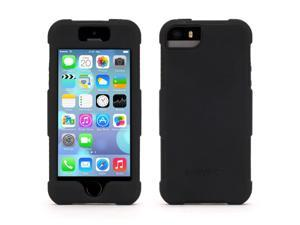 Griffin Black Survivor Skin Protective Case for iPhone 5/5s   6-foot drop protection from a silicone skin.