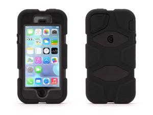 Griffin Black/Black Survivor Heavy Duty Case for iPhone 5/5s With Touch ID   Military-Duty Case
