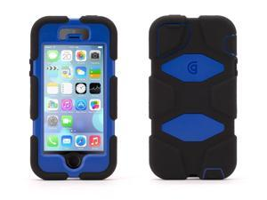 Griffin Black/Blue Survivor Heavy Duty Case for iPhone 5/5s With Touch ID   Military-Duty Case