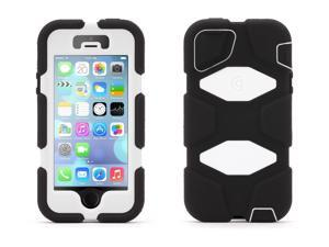 Griffin Black/White Survivor Heavy Duty Case for iPhone 5/5s With Touch ID   Military-Duty Case