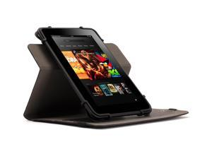 "Griffin Black Multi Positional TurnFolio for Small to Medium-sized Tablets   Rotating case and a custom fit for your 7-8"" tablet"