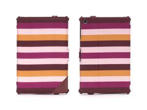 Griffin Burgundy & Pink Striped Journal Case for iPad mini and iPad mini with Retina Display   Folio case plus workstand ...