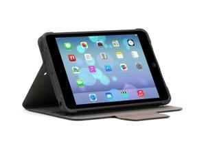 Griffin iPad mini 1/2/3 Protective Folio, SnapBook Case and Shell, Black   6ft Drop Protection and Versatile Folio case