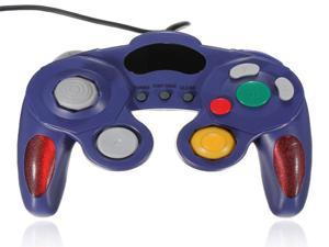 Dual Shock Game Controller Joypad Gamepad For Nintendo Wii GC NGC GameCube Blue