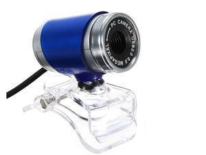 360 Rotating Blue Fashion 30M PC Camera USB 2.0 Webcam HD Camera Web Cam For PC Laptop Computer