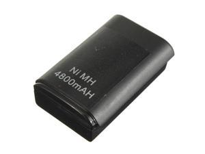 4800mAh Rechargeable Replacement Battery Pack For Xbox 360 Controller New Black