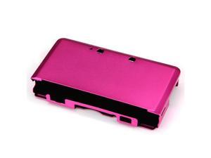 Metal Aluminum Hard Cover Case Box For Nintendo 3DS Rose Red