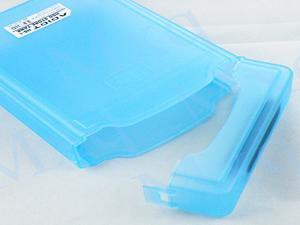 "New Portable Store Tank Box Case external Enclosure for 3.5"" IDE SATA HDD Hard Drive Disk"