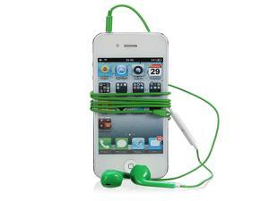 Earphone Headset Earbuds with Mic For iPhone 4S 5 iPod Samsung S4 HTC  3.5mm