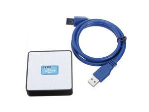 PC External 4 Ports USB 3.0 Hub Extension Adapter Super Speed 5Gbps Cable