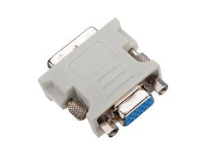 New DVI DVI-I Male 24+5 Pin to VGA Female Video Converter Adapter