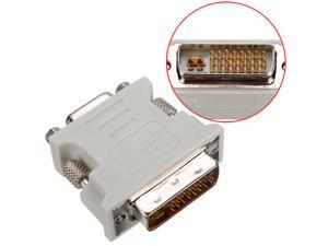 DVI DVI-I Male 24+5 Pin to VGA Female Video Converter Adapter