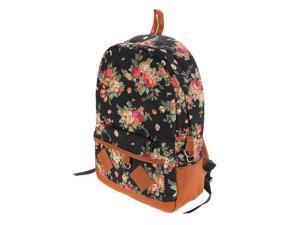 Women Girl Lady Vintage Cute Flower Floral Bag Schoolbag Campus Bookbag Backpack 5 Colors Laptop Notebook Tablet PC
