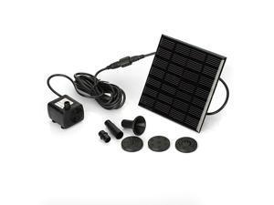 Solar Power Panel Fountain Pool Water Pump Kit Submersible Pond  Garden Watering