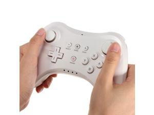 New White Dual Analog Wireless Gamepad Controller for Nintendo Wii U Pro