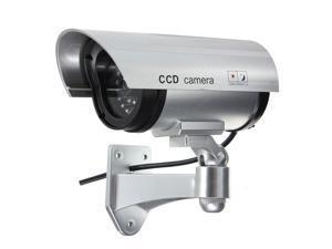 Wireless waterproof IR Dome Fake Dummy CCD CCTV Security Surveillance Camera LED Blinking night vison