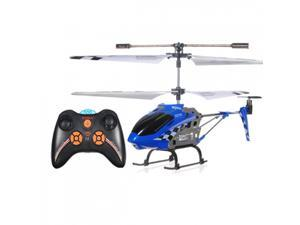 Genuine SYMA S107N 3CH 2.4Ghz IR RC Remote Control Helicopter GYRO LED Light Red