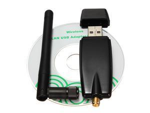 Wireless USB 2.0/1.1 wifi Adapter 300Mbps WiFi Network Card IEEE 802.11b.g.n for pc laptop Windows 2000 XP 32/64-bit Vista ...