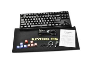 KEYCOOL ABS Laser Printed USB Mechanical Keyboard-Cherry MX Brown Switch 9 keys cap 87 Mechanical game gaming mouse Keyboard ...