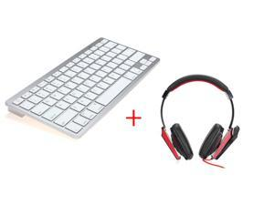 Mini Wireless Bluetooth Keyboard For iPad iPhone Mac PC + 