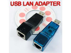 New!! USB Ethernet RJ45 10/100 Adapter Network Lan Card 32 bit