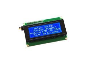 New 2004 204 20X4 Character LCD Display Module Blue Blacklight for Arduino