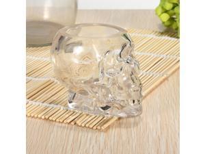 75ml Crystal Skull Head Vodka Wine Beer Whiskey Shot Glass Bottle Cup Mug Ware Drinking Drink Home Bar Decanter