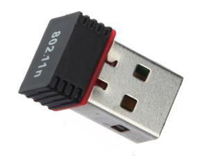 Mini 150Mbps USB WiFi Wireless Adapter 150M Network LAN Card 802.11n/g/b