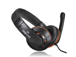 Ovleng OV-Q5 USB 2.0 Stereo Headphone Headset with Microphone Mic for PC Laptop Computer